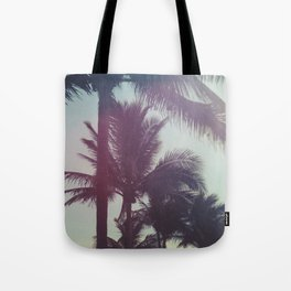 Dreamy Palm Trees Tote Bag