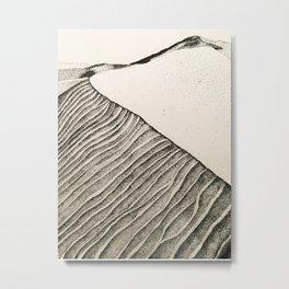 Desert Texture Metal Print