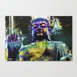 Distorted Blessings Canvas Print