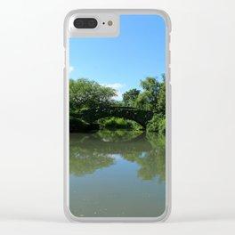 Gapstow Bridge - Central Park Clear iPhone Case