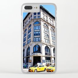 SoHo New York City Street Clear iPhone Case