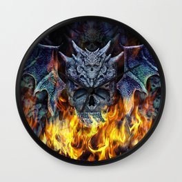 Hellwings II. Wall Clock