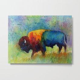 American Buffalo III Metal Print