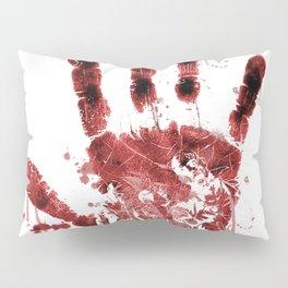 Zombie Handprint Pillow Sham