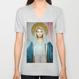 Our Lady of Flawlessness Unisex V-Neck