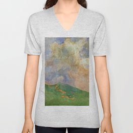 Asai Chu - Cloud Unisex V-Neck
