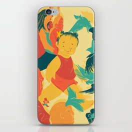 And A Little Girl Who Only Wished To Fly iPhone Skin