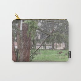 Out the window during a rain storm Carry-All Pouch
