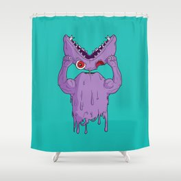 Monster Facelift Shower Curtain