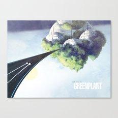 Green Plant - F-Zero GP Canvas Print