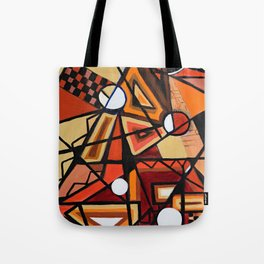 Geometric Composition Tote Bag
