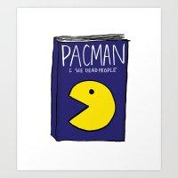 Pacman's Autobiography Art Print