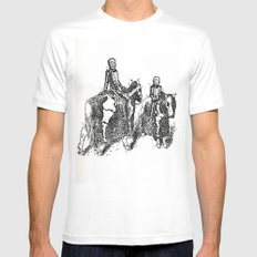 X-Ray Horsemen White Mens Fitted Tee MEDIUM