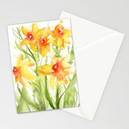Loose Daffodils II Stationery Cards