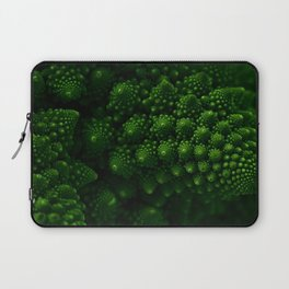Macro Romanesco Broccoli - Low Key Laptop Sleeve