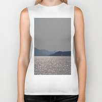 sailboat Biker Tanks featuring sailboat by Alyson Cornman Photography