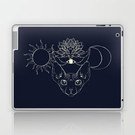 Moonight cat Laptop & iPad Skin