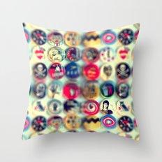 Jean&Jane Throw Pillow