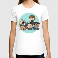 cyrilliart T-shirts featuring Cutie Pile by Cyrilliart