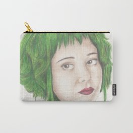 Green Haired Ramona Carry-All Pouch