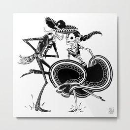 ZAPATEADO Metal Print