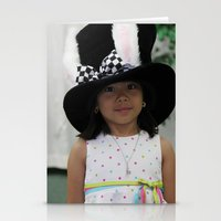 hat Stationery Cards featuring Hat by Faith Buchanan