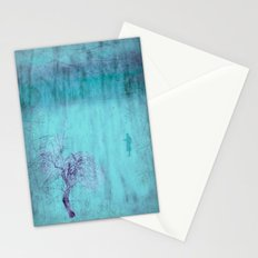 Walking ~ Abstract Shiraz series Stationery Cards