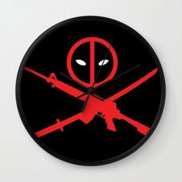 Deadpool - Wade Wilson 2 Wall Clock