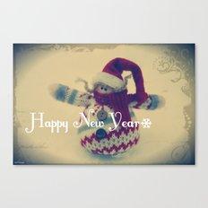 Happy New Year :) Canvas Print