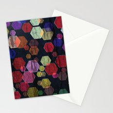 C13 construct hex v2 Stationery Cards