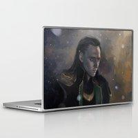 loki Laptop & iPad Skins featuring Loki by Ka-ren