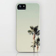 Sea Green Palms Slim Case iPhone (5, 5s)