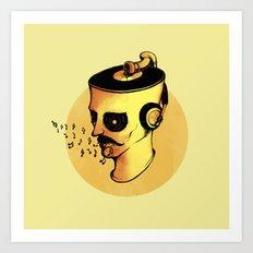 Record Player - ANALOG zine Art Print