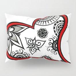 Tangled heart Pillow Sham