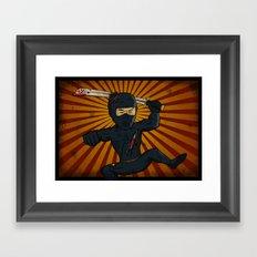 DK Ninja Framed Art Print