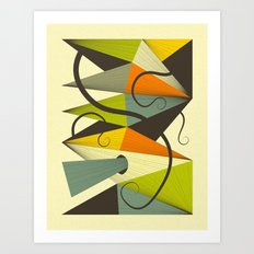 Interzone (4) Art Print
