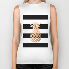 Pineapple Vibes Biker Tank