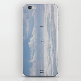 Walking at the sky iPhone Skin