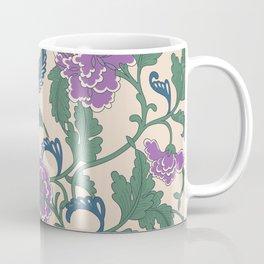 traditional purple-coloured flower Coffee Mug