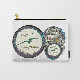 The 3 Birds of Rhiannon Carry-All Pouch