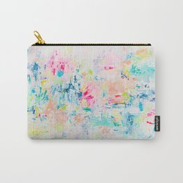 Colorful Abstract Painting Carry-All Pouch