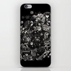 Spark-Eyed Oblivion Cascade Blues iPhone & iPod Skin