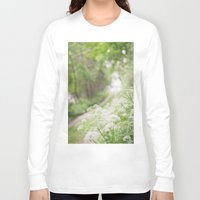 country Long Sleeve T-shirts featuring Country Road by Pure Nature Photos