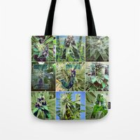 marijuana Tote Bags featuring Marijuana Collage by Beautiful Buds 420