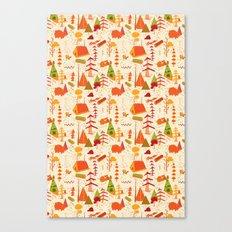 woods pattern Canvas Print