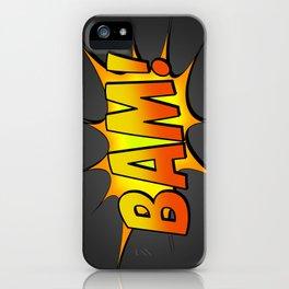 BAM iPhone Case
