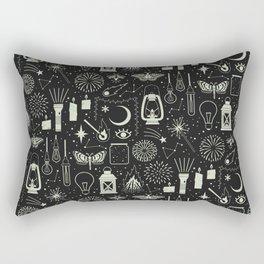 Light the Way: Glow Rectangular Pillow