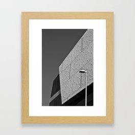 Texture (South Wharf, 2011) Framed Art Print