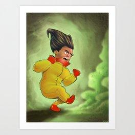 Yellow Boy... Greenish... Art Print