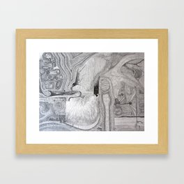 Pathways 4 Framed Art Print